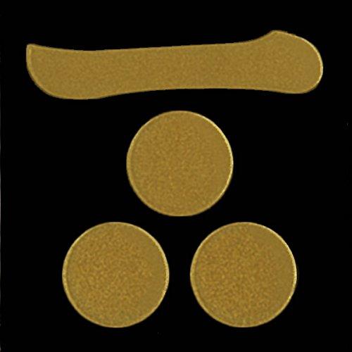 一の字の下に3つの丸い模様があしらわれています。これが毛利家の家紋です。
